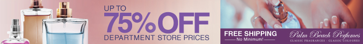 Up to 75% Off from Palm Beach Perfumes