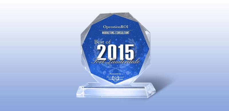 Best of Fort Lauderdale Award 2015