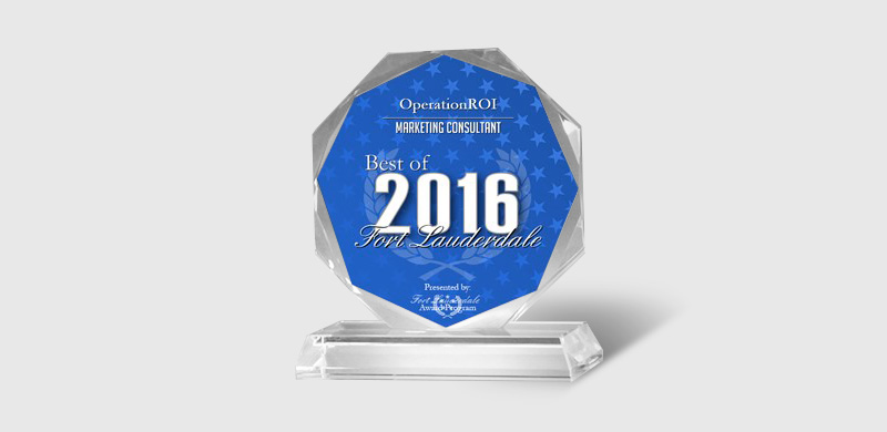 2016 Best of Fort Lauderdale Award