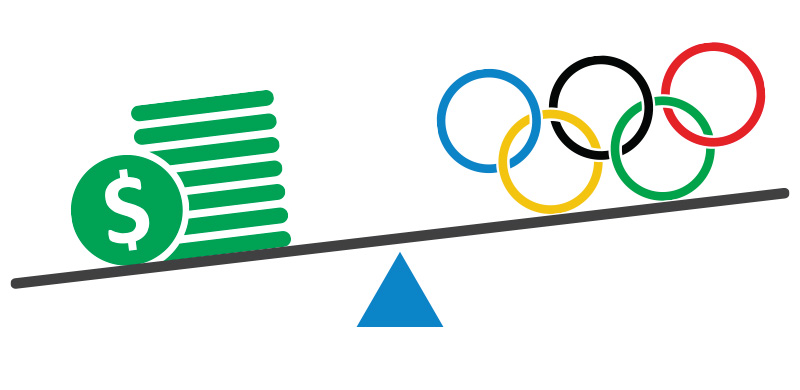 leverage worldwide events - like the Olympics