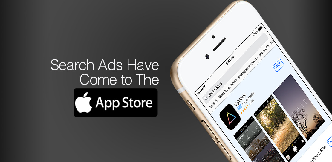 Search Ads Have Come To The Apple App Store