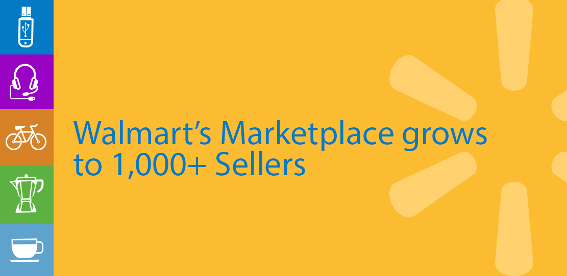 Walmart's Marketplace Grows To Over 1,000 Sellers