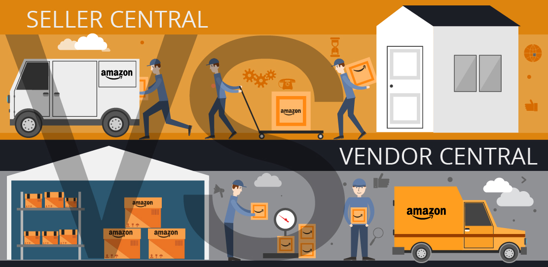 seller central vs vendor central