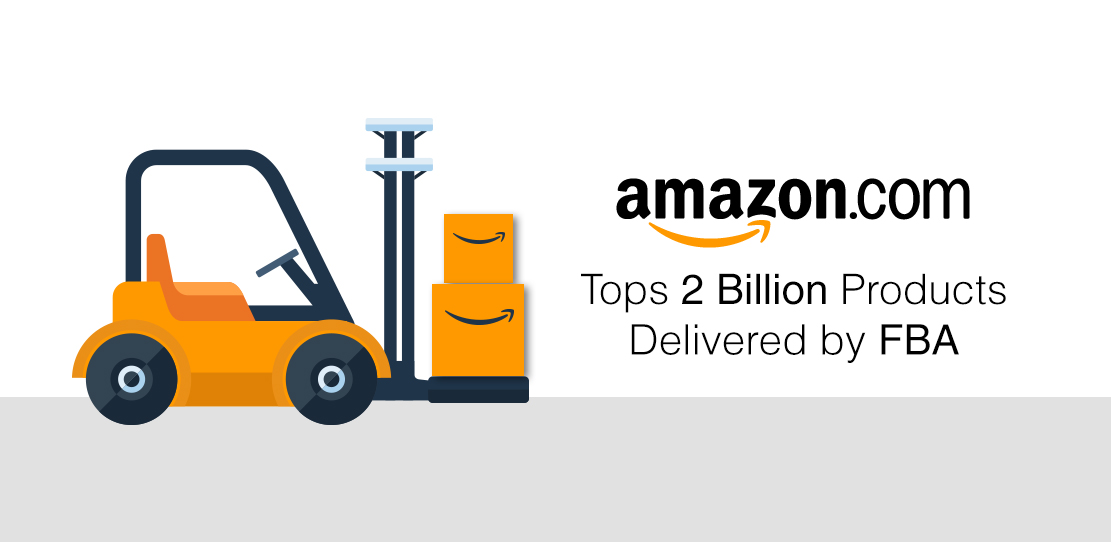 Amazon FBA Top 2 Billion Products Delivered