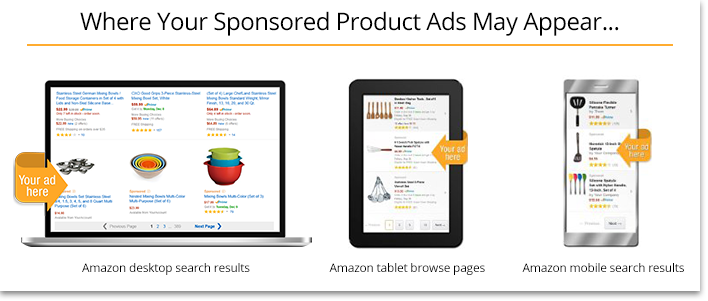 Where Your Sponsored Product Ads May Appear in Amazon's Search Results