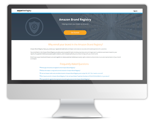 Gain more control of your brand using Amazon's Brand Registry.