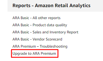 Upgrade to ARA Premium