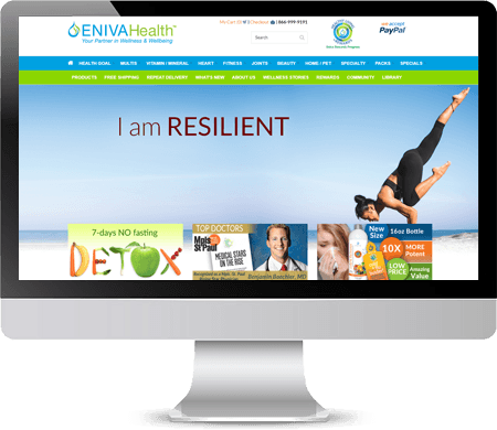 Eniva Health Website