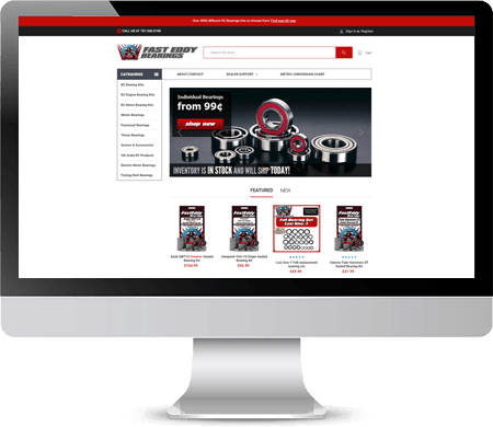 Fast Eddy Bearings Website