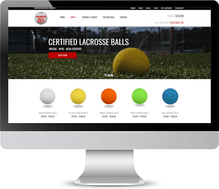 LacrosseBallsDirect.com NEW Website