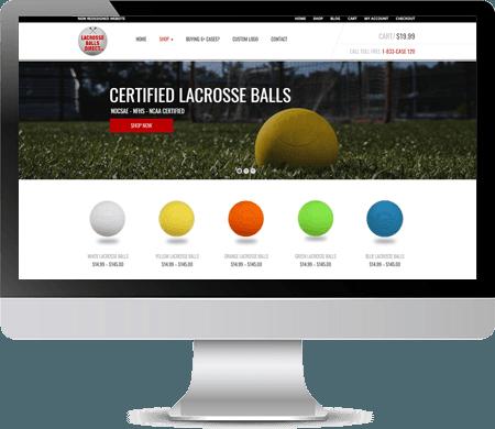LacrosseBallsDirect.com NEW Website