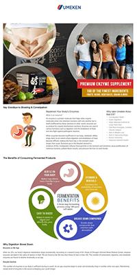 Umeken Enhanced Brand Content Example