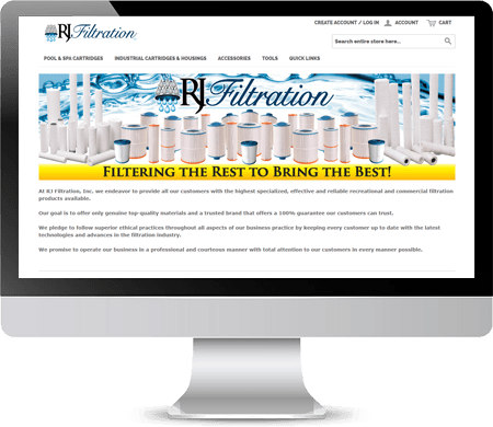 RJ Filtration Website (Filters4Less on Amazon)