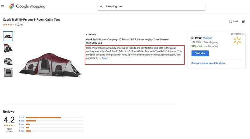 Always Optimize Your Google Shopping Product Descriptions By Including Highly Searched Keywords