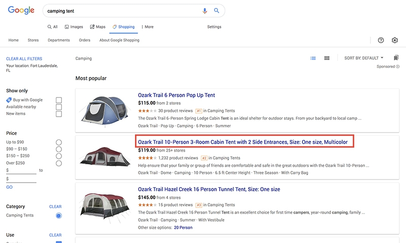 Fine-Tune Your Product Titles On Google Shopping