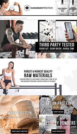 Amazon Brand Store - Canadian Protein