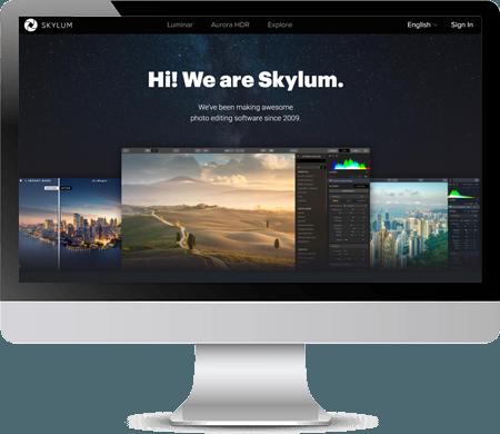 Skylum Website