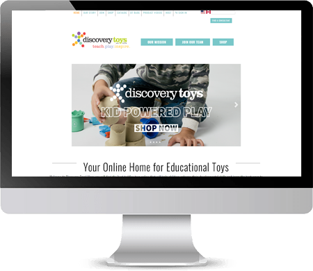 Discovery Toys Website