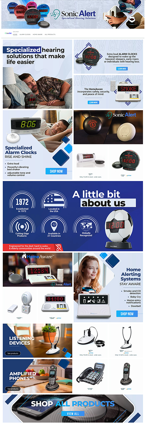 Sonic Alert Amazon Brand Store
