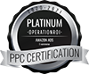 OperationROI is a Platinum Certified PPC Agency in Amazon PPC and Google PPC on PPCCertification.com